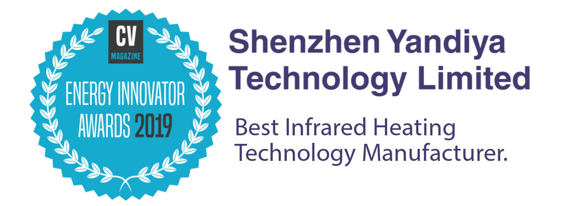 Award - Best Infrared Heating Manufacturer